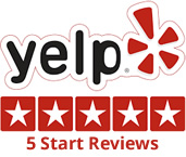 Yelp 5 Start Reviews